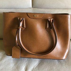 Lauren Ralph Lauren brown leather purse